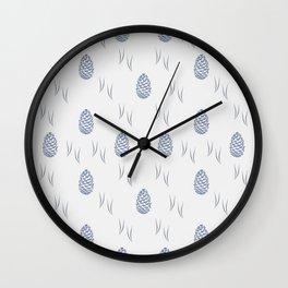 Pinecones (Tide) Wall Clock
