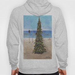 Christmas Tree at the Beach Hoody