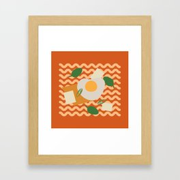 Instant Ramen Framed Art Print