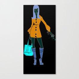 Thrifting Canvas Print