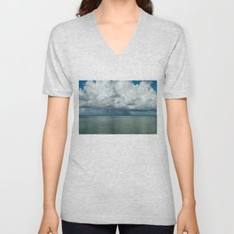 Heavy clouds Unisex V-Neck