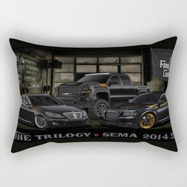 The Trilogy Rectangular Pillow