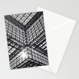Metal and Glass Stationery Cards