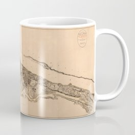 Map of New York 1782 Coffee Mug