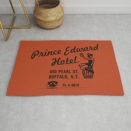 the Prince Edward Hotel Rug