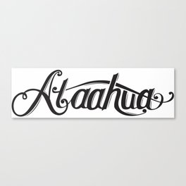 Ataahua (Beautiful) Canvas Print