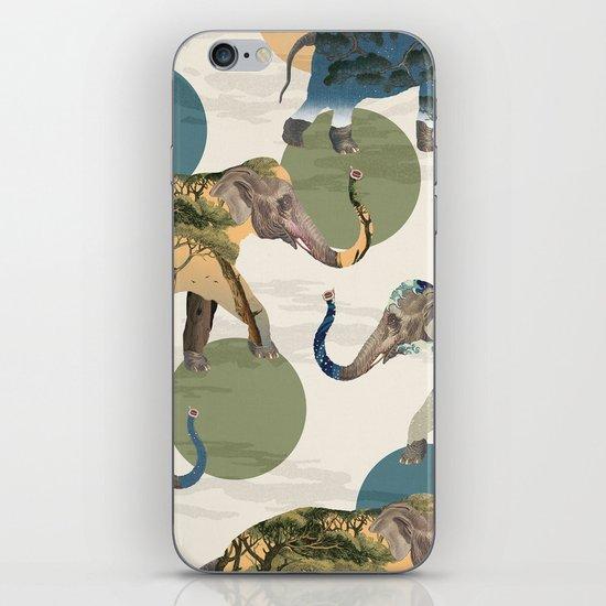 Elephant Polka iPhone & iPod Skin