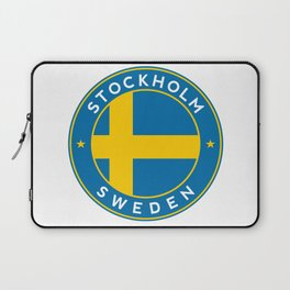 Sweden, Stockholm, circle Laptop Sleeve