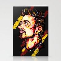 stark Stationery Cards featuring Tony Stark by AlysIndigo