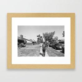 Runner of the Meet Framed Art Print