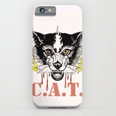Space Cat King Fire Slim Case iPhone 6s