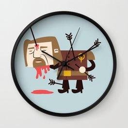Hand of the Steward Wall Clock