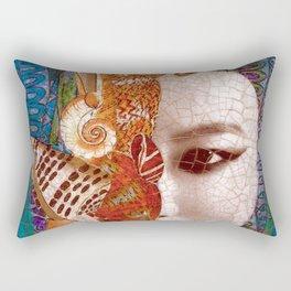 Mermaid Mystery Rectangular Pillow