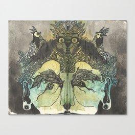 Birdbrain Canvas Print