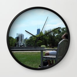 A Break from the City Wall Clock