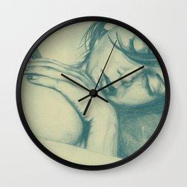 As Heaven Awaits: Celadon Wall Clock