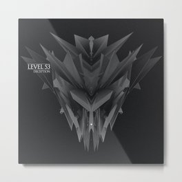 Deception EP Cover Metal Print