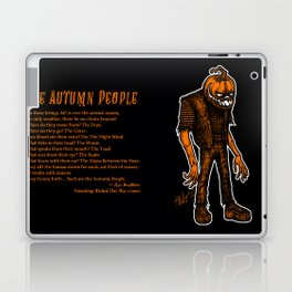 Autumn People 4 Laptop & iPad Skin