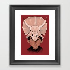 Dinohead Framed Art Print