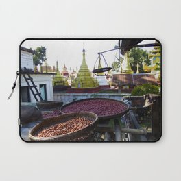 View from the Nunnery, Myanmar Laptop Sleeve