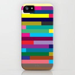 Lignes 13 iPhone Case