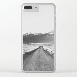 ON THE ROAD XX / Iceland Clear iPhone Case