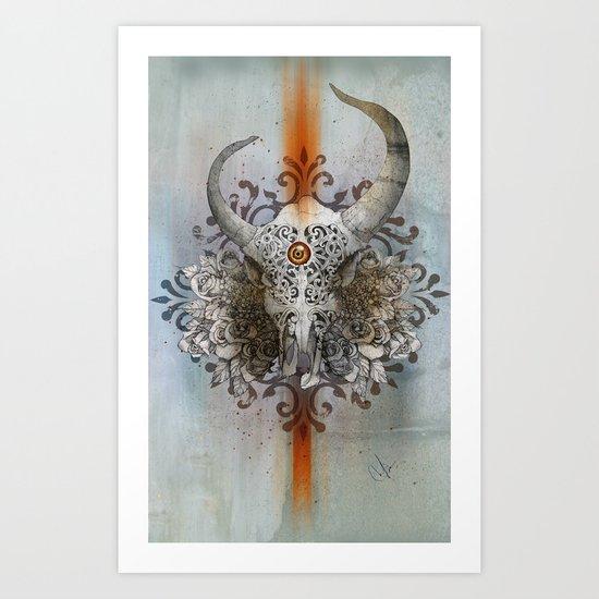 Carved Soul Art Print