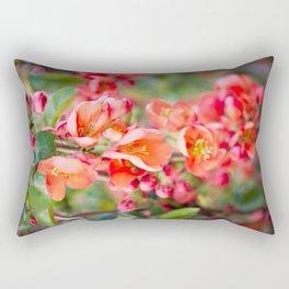 Quince blossom Rectangular Pillow
