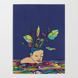 Spring Head Poster