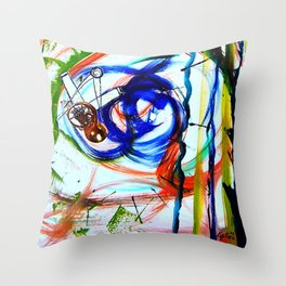 MOZART: Horn Concerto        by    Kay Lipton Throw Pillow