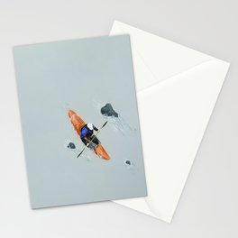 Solitude- Kayaker Stationery Cards