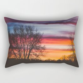 Leave Me Here Alone Rectangular Pillow