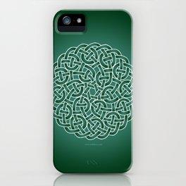 Celtic knot iPhone Case