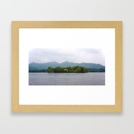 Isolate Framed Art Print