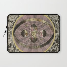 Scenograpy of the Earth and Heavens, as According to Copernicus, 1708 Laptop Sleeve