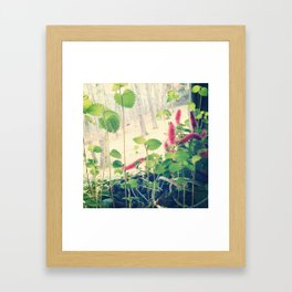 Patterson floral Framed Art Print