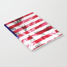 American Flag Extrude Notebook