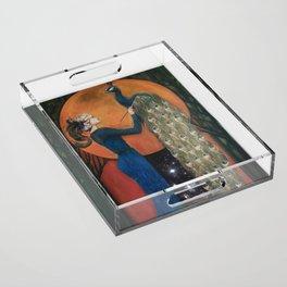Origin of Inspiration Acrylic Tray