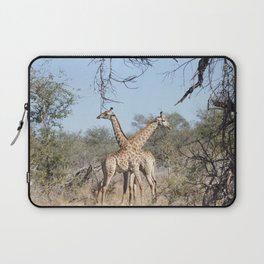 Two Giraffe in the Kruger National Park Laptop Sleeve