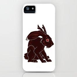 Jackalope iPhone Case