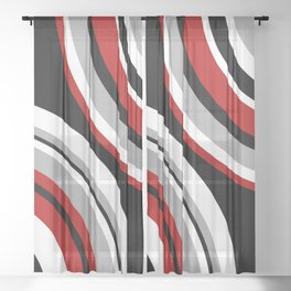 Design circles Sheer Curtain