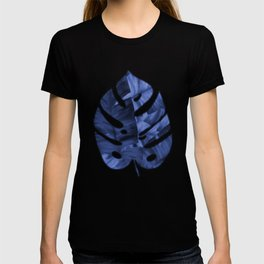 Tropical Banana Leaves With Flower Pattern T-shirt