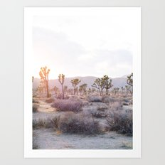 Joshua Tree Diptych [Left Side] Art Print