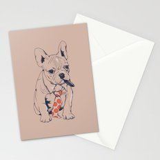 FRENCH BULLDOG BOSS Stationery Cards