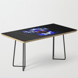 Shadow Light Of Tardis Coffee Table