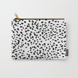 Dalmat-b&w-Animal print I Carry-All Pouch