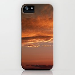 September sunset 2 iPhone Case