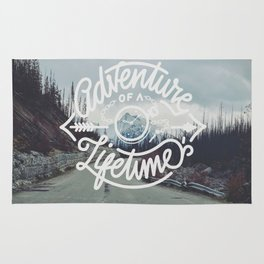 Adventure of a lifetime Rug