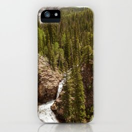 Judd Falls in Crested Butte, Colorado iPhone Case