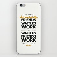 leslie knope iPhone & iPod Skins featuring Leslie Knope by thatfandomshop